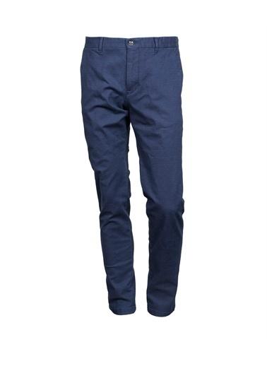 Lufian Marks Spor Chino Pantolon Slim Fit  Lacivert